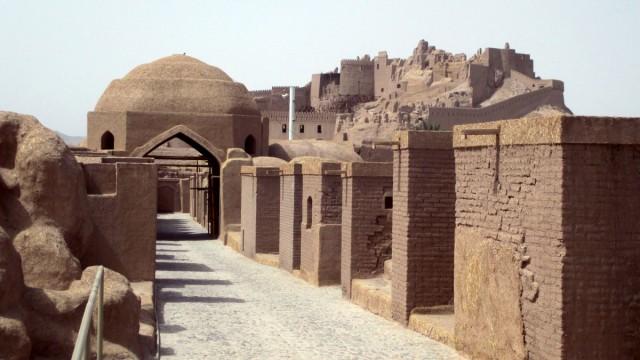 Zdjęcia: Gliniane Miasto, Bam, Z gliny powstałeś....2, IRAN