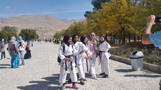 Zdjęcia: Pesepolis, Sziraz, Persepolis w tle, IRAN