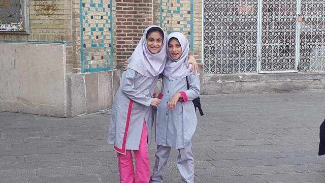 Zdjęcia: Isfahan, Isfahan, Przyjaciółki, IRAN