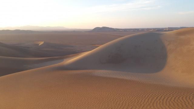 Zdjęcia: Varzaneh, Varzaneh, Wydmy na pustyni, IRAN