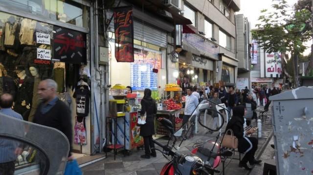 Zdjęcia: Teheran, Sklepy, IRAN