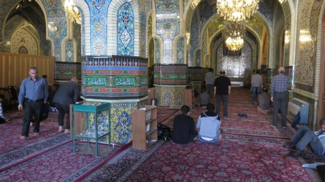 Zdjęcia: Teheran, Meczet w środku, IRAN