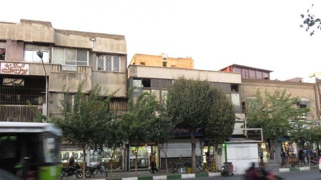 Zdjęcia: Teheran, Typowe budynki - centrum miasta, IRAN