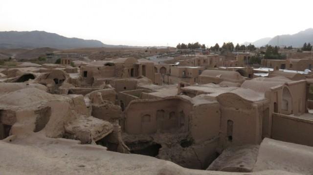 Zdjęcia: Okolice Jazd, Kharanaq - stara opuszczona wioska, IRAN