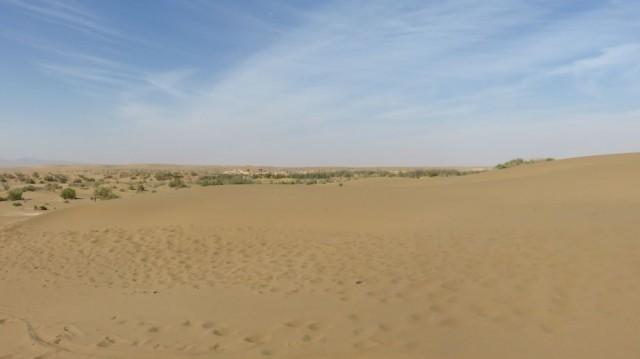 Zdjęcia: Pustynia Dasht-e Kavir, Pustynia z oazą Farahzad, IRAN