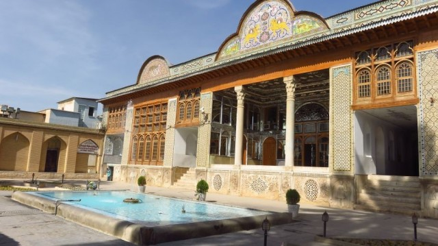 Zdjęcia: Sziraz, Naranjestan-e Ghavam Pawilon, IRAN