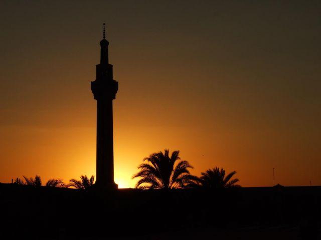 """Zdjęcia: Tabaz, Minaret """"Zaćmienie"""", IRAN"""