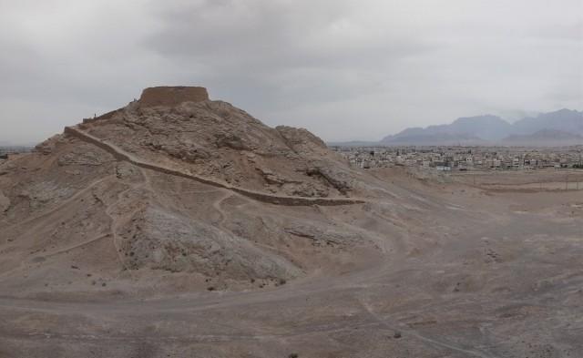 Zdjęcia: Jazd, Wieża milczenia, IRAN