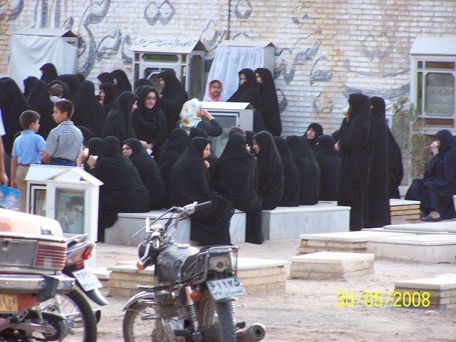 Zdjęcia: CMENTARZ, YAZD, POGRZEB, IRAN
