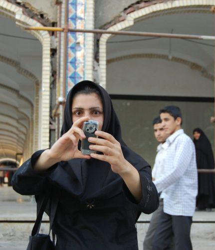 Zdjęcia: Masha, przy meczecie Immama Rezy, Mashad, Moja chwila sławy, IRAN