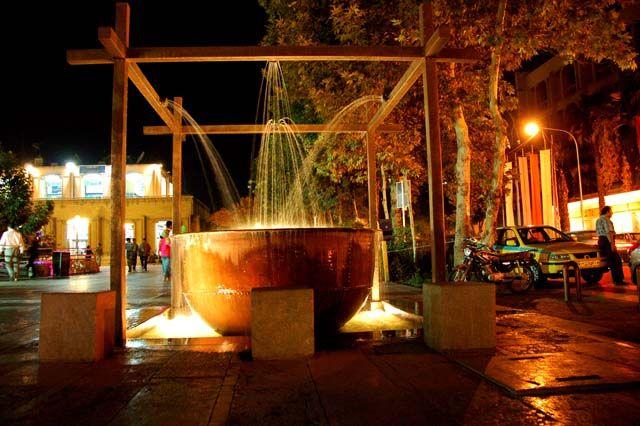 Zdjęcia: yazd, nocą, IRAN