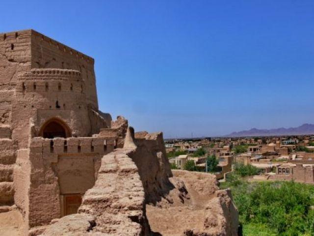 Zdj�cia: Meybod, Okolice Yazd, Zamek Babak, IRAN