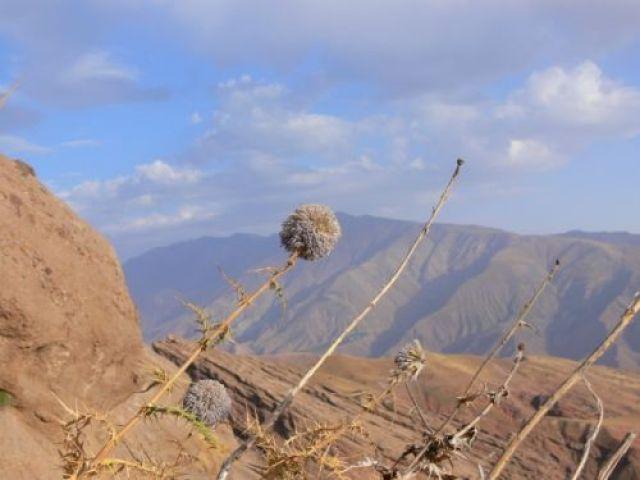 Zdjęcia: Twierdza Alamut, Góry Alborz, Widok z okienka Hassana ibn Sabbaha, IRAN