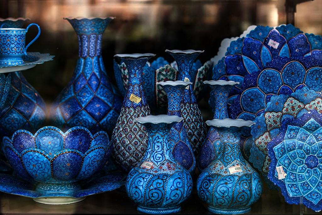 """Zdjęcia: Isfahan, Isfahan, """"ceramika"""", IRAN"""