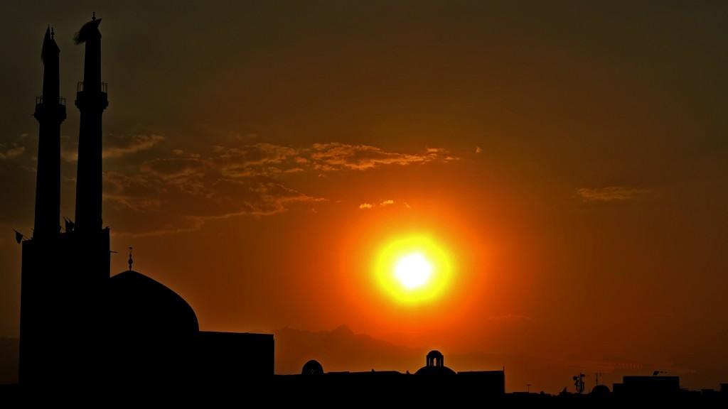 Zdjęcia: Yazd, Yazd, wieczór, IRAN