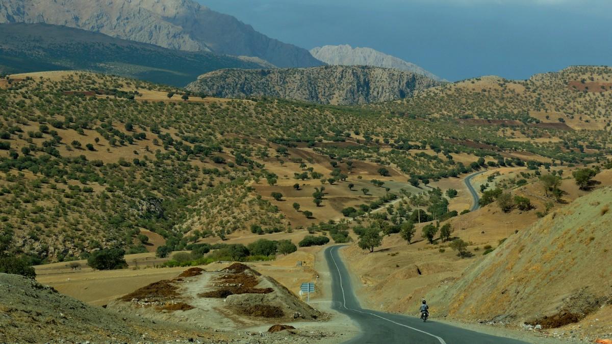 Zdjęcia: droga do Palangan, Kurdystan, przez Kurdystan, IRAN