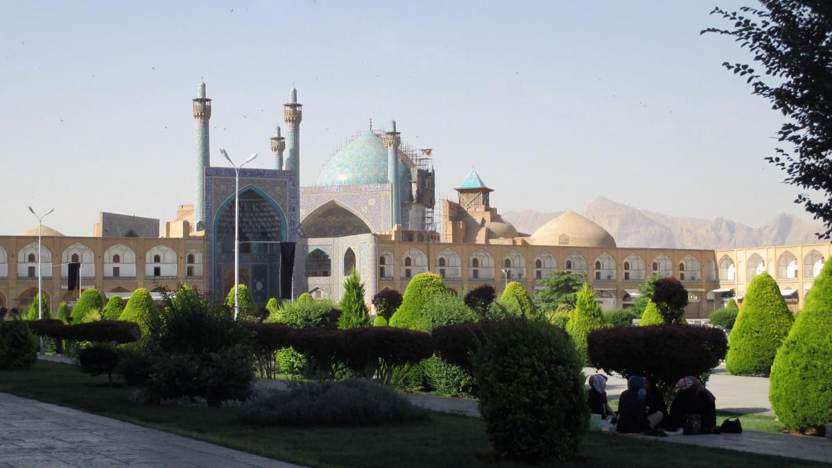 Zdjęcia: Meczet Imama, Esfahan, Patrząc z cienia, IRAN
