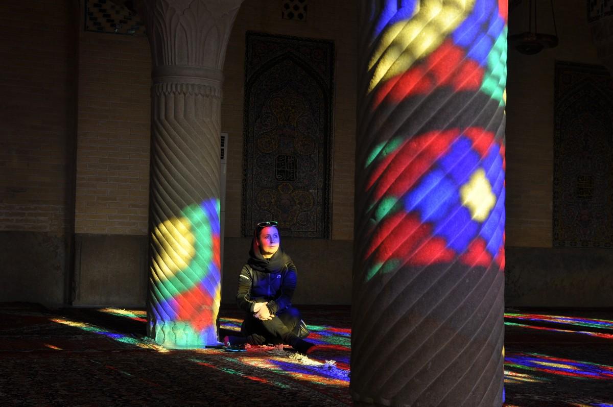 Zdjęcia: Nasir al-mulk, Shiraz, Kolory Iranu, IRAN