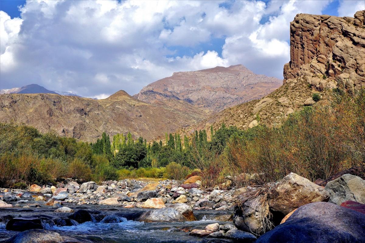 Zdjęcia: rejon osady Andej, Góry Elburs, Dolina Alamut, IRAN