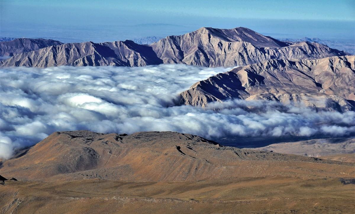 Zdjęcia: Demawend, Góry Elburs, Demawend u progu dnia., IRAN
