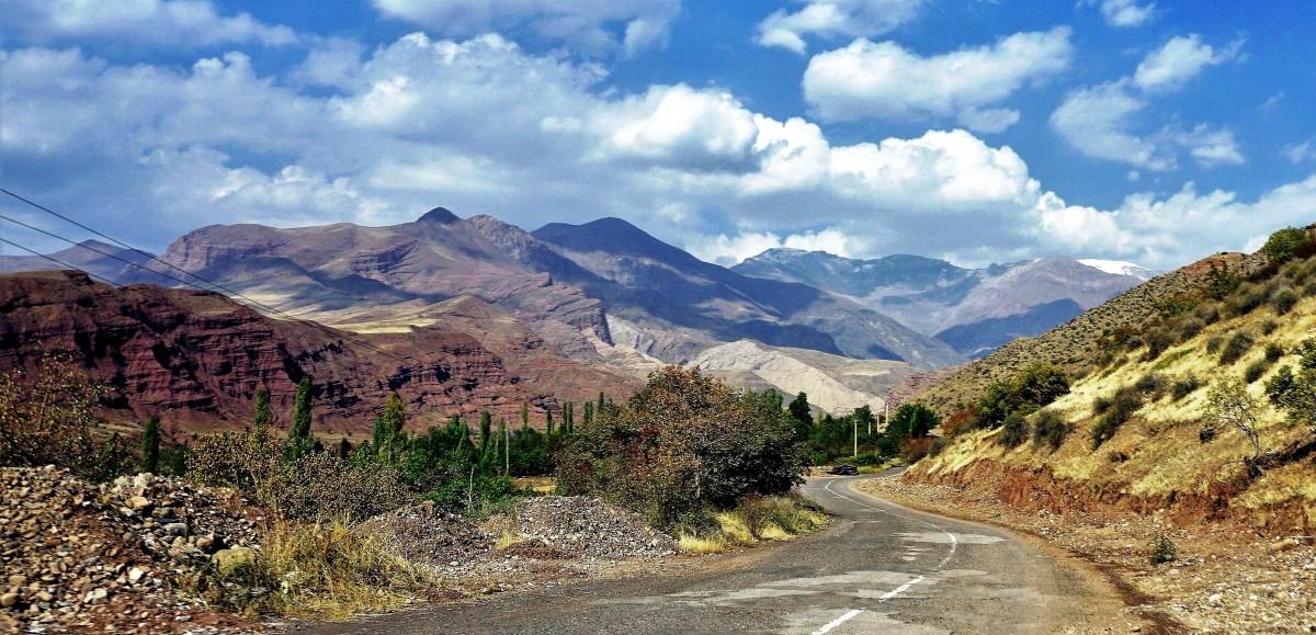 Zdjęcia: Dolina Alamut, Góry Elburs, Kraina Asasynów , IRAN