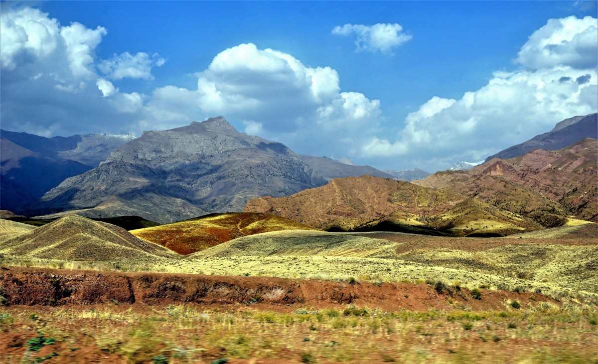 Zdjęcia: okolice Rajaei Dasht, Góry Elburs, Dolina Alamut, IRAN