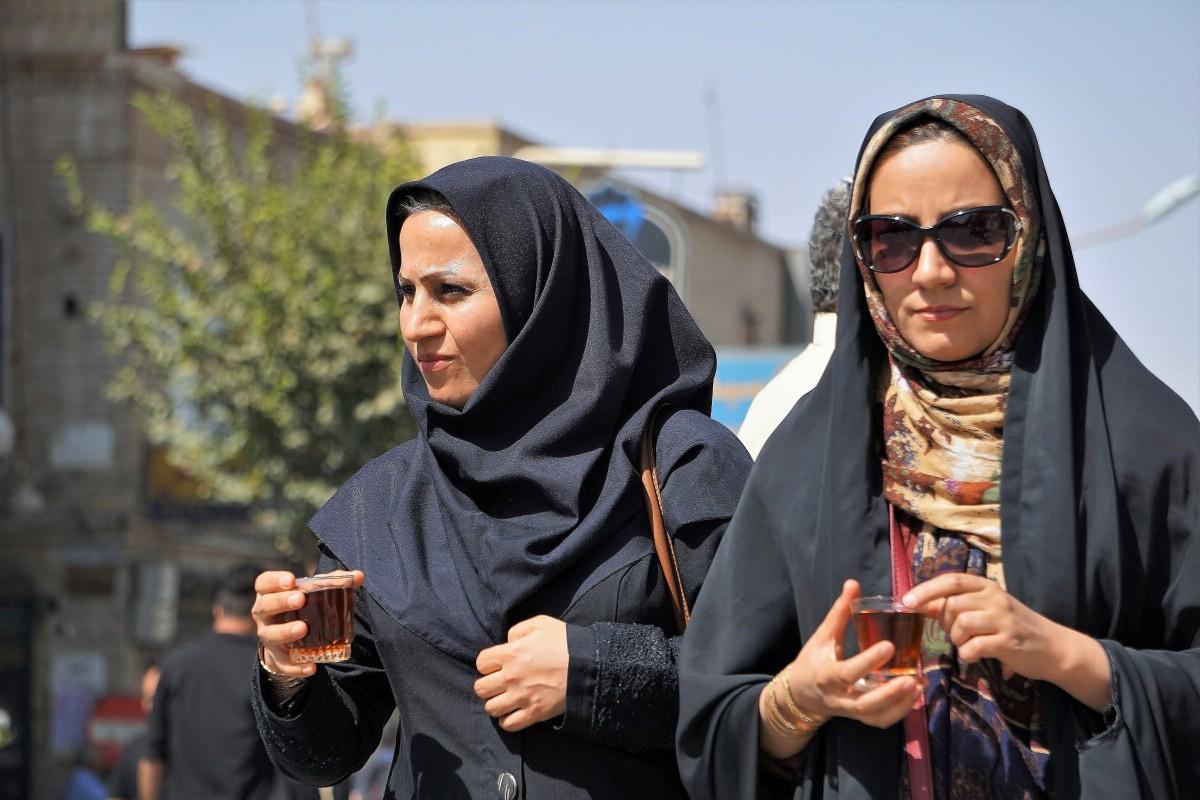 Zdjęcia: Yazd, Środkowy Iran, Święto Ashura, IRAN