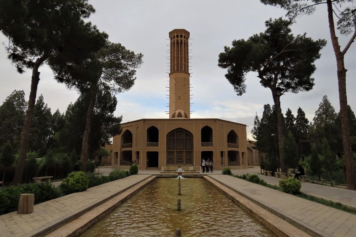 Zdjęcia: Jazd, Ogród Dolat-Abad, IRAN