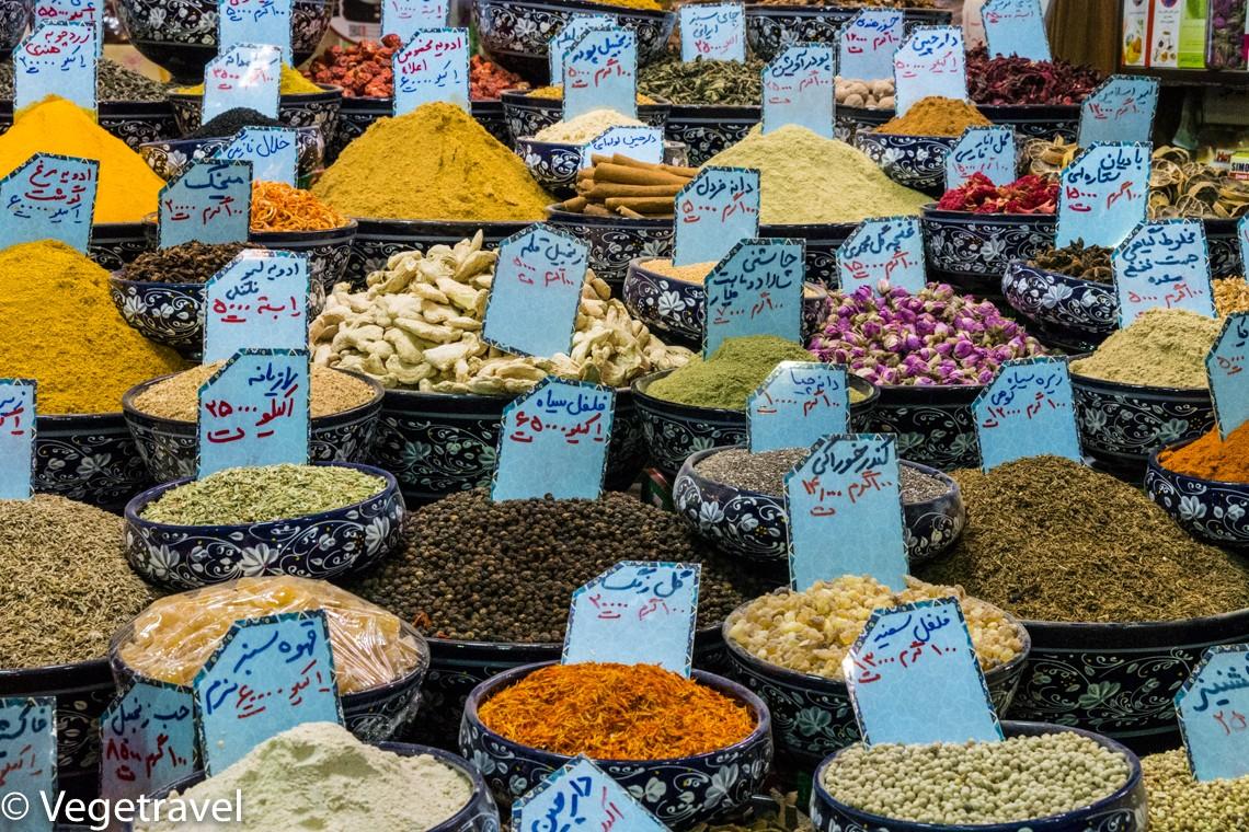 Zdjęcia: Isfahan, Isfahan, Irańskie przyprawy, IRAN