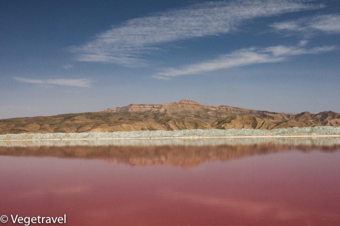 Zdjęcia: jezioro Maharloo , Shiraz, 50 shades of pink :), IRAN