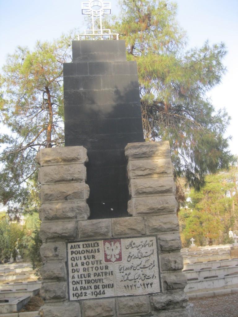 Zdjęcia: cmentarz w Teheranie, Teheran, Mogiły polskich uchodźców w Teheranie, IRAN