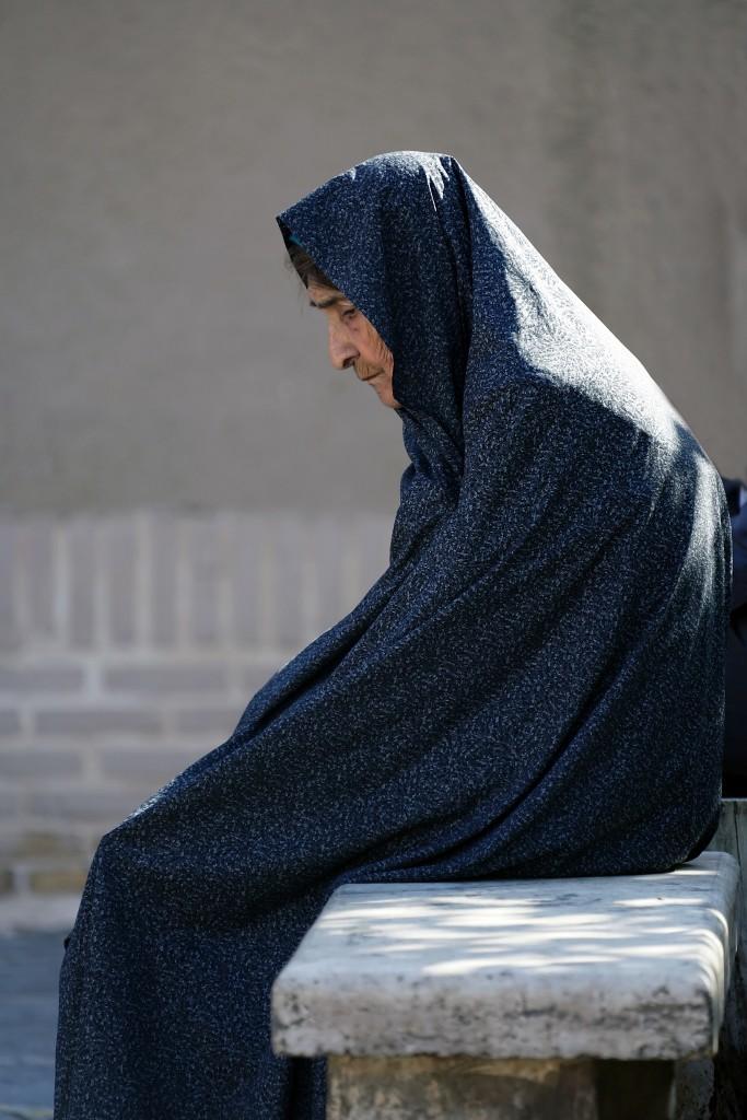 Zdjęcia: Yazd, Yazd, Zmęczenie...., IRAN
