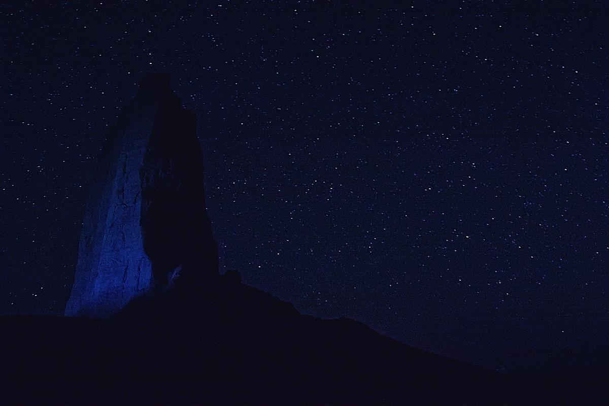 Zdjęcia: Dasht-e Lūt, wschodni Iran, Noc na pustyni...., IRAN