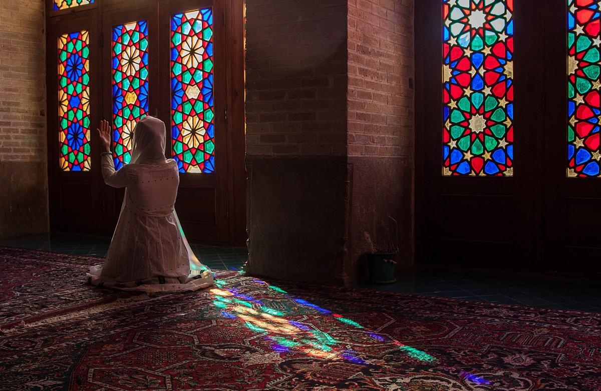 Zdjęcia: Shiraz, płd. Iran, Nasir-al-Molk, IRAN