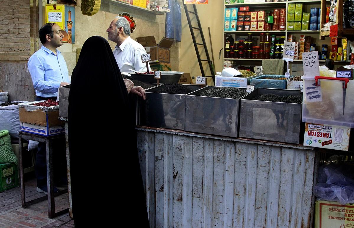 Zdjęcia: okolice shiraz, płd. Iran, Życie na suku...., IRAN