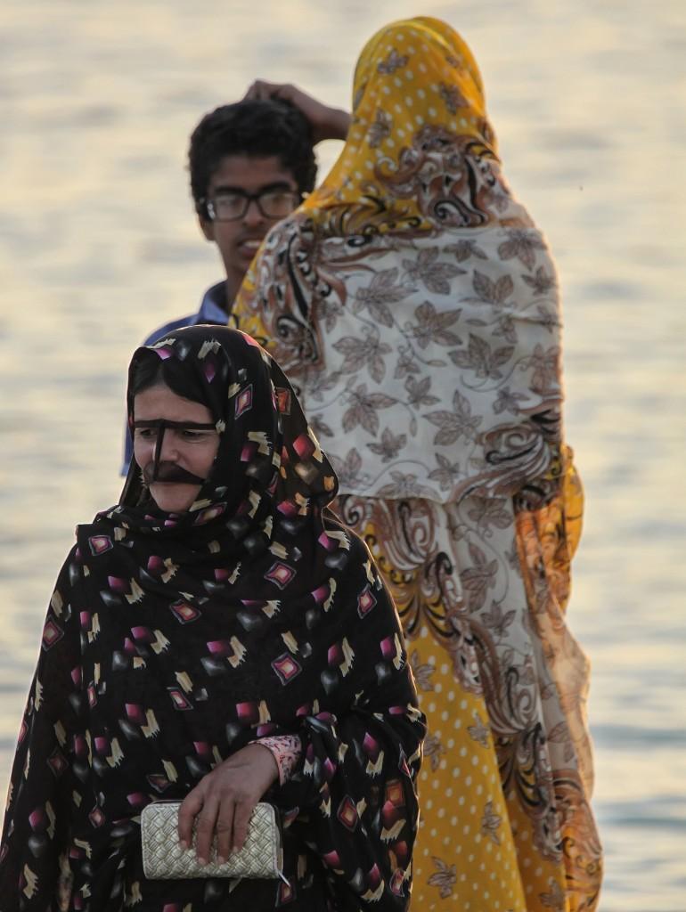 Zdjęcia: Qeshm, wyspa Qeshm, Kobiety z ludu Bandari, IRAN