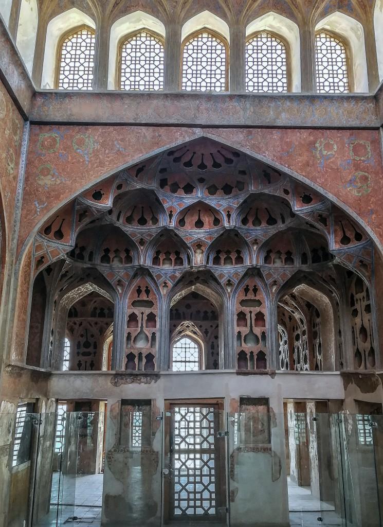 Zdjęcia: Esfahan, Iran, pałac Ali Qapu, IRAN