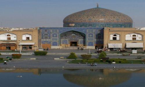 Zdjęcie IRAN / Wyżyna Irańska / Isfahan / Masjed-e Sheikh Lotf-ollah
