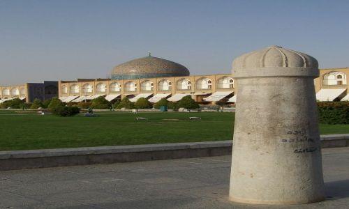 Zdjęcie IRAN / Wyżyna Irańska / Isfahan / Na Placu Naqsh-e Jahan