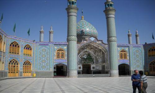 Zdjecie IRAN / �rodkowy Iran / Kashan / meczet w KASHAN