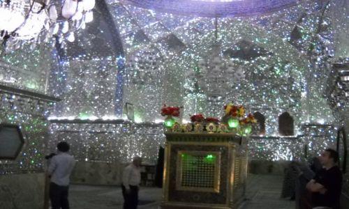 IRAN / Południowy Iran / SHIRAZ / mauzoleum Shah-Cheragh