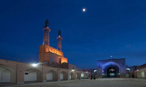 Zdjecie IRAN / Yazd / Yazd / blekitny meczet