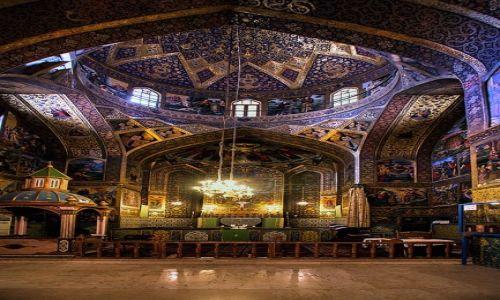Zdjęcie IRAN / Eshafan / Eshafan / Kosciol ormianski w Eshafan