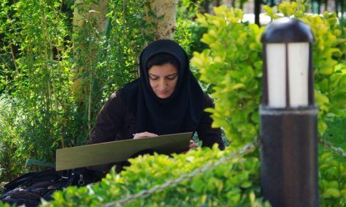 Zdjecie IRAN / - / Esfahan / Malarka