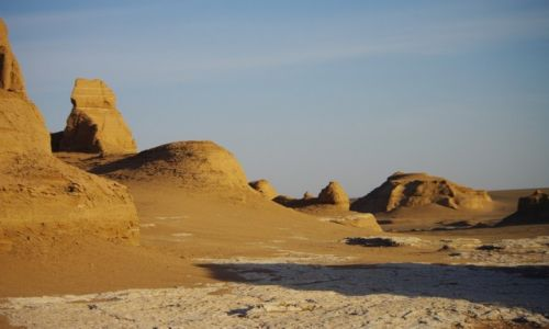 Zdjecie IRAN / - / pustynia Lut / prawie jak śnieg
