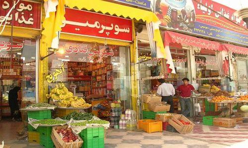 Zdjecie IRAN / brak / Prowincja Pars / postój na zakupy