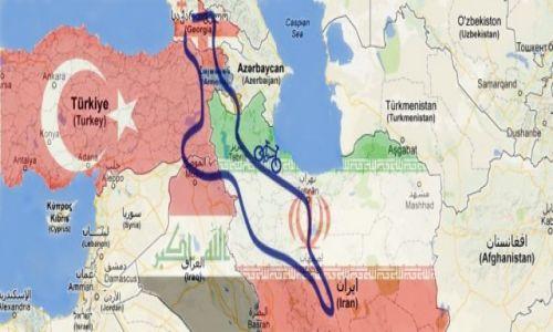 IRAN / Cały kraj / kaukaz i bliski wschód / Kaukaz i Bliski Wschód rowerem 2013