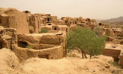 IRAN / brak / Kharanaq okolice Yazdu / panorama