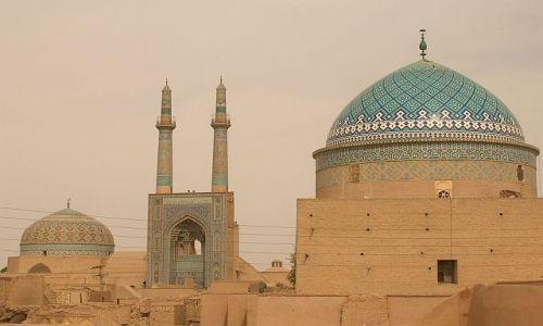 IRAN / brak / Yazd / Meczet Piątkowy