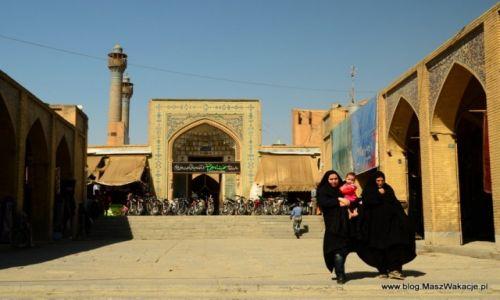 Zdjęcie IRAN / Iran / Isfahan - wejście na bazar / Isfahan - bazar